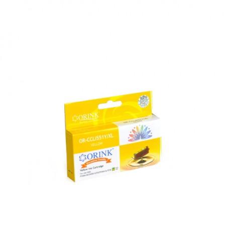 Tusz do Canon Pixma MG 5550 żółty - CLI551Y