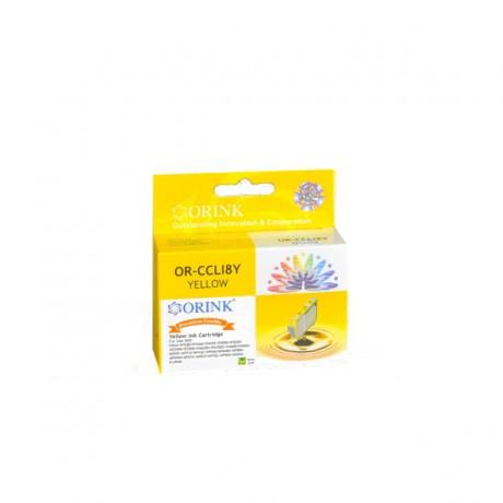 Tusz do Canon Pixma IP4300 żółty - CLI8Y