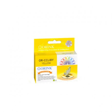 Tusz do Canon Pixma IP4500 żółty - CLI8Y